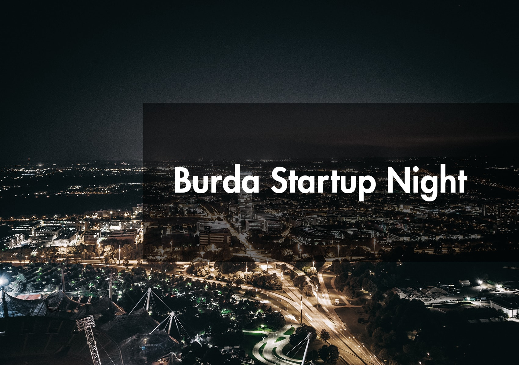 Develandoo at Startup Night by Hubert Burda Media