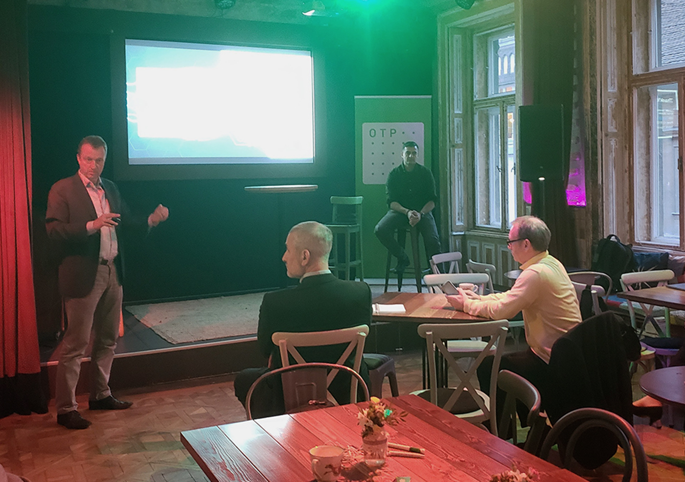 """Develandoo team presented our new product """"Protogen AI"""" at Budapest Smart People Innovation Event"""
