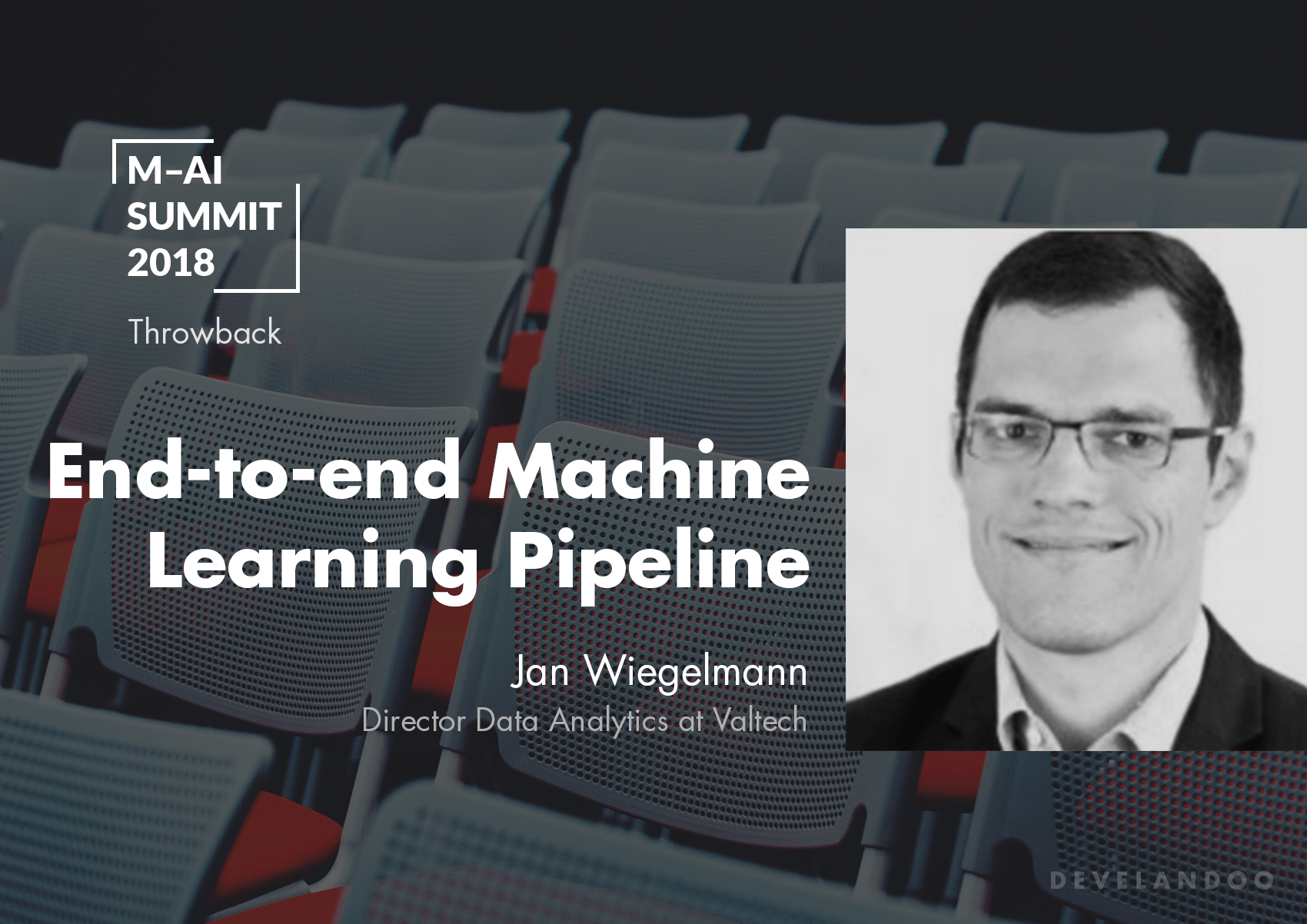 Throwback to Munich-AI Summit 2018. Jan Wiegelmann Discusses an End-to-End Array of AI Use Cases
