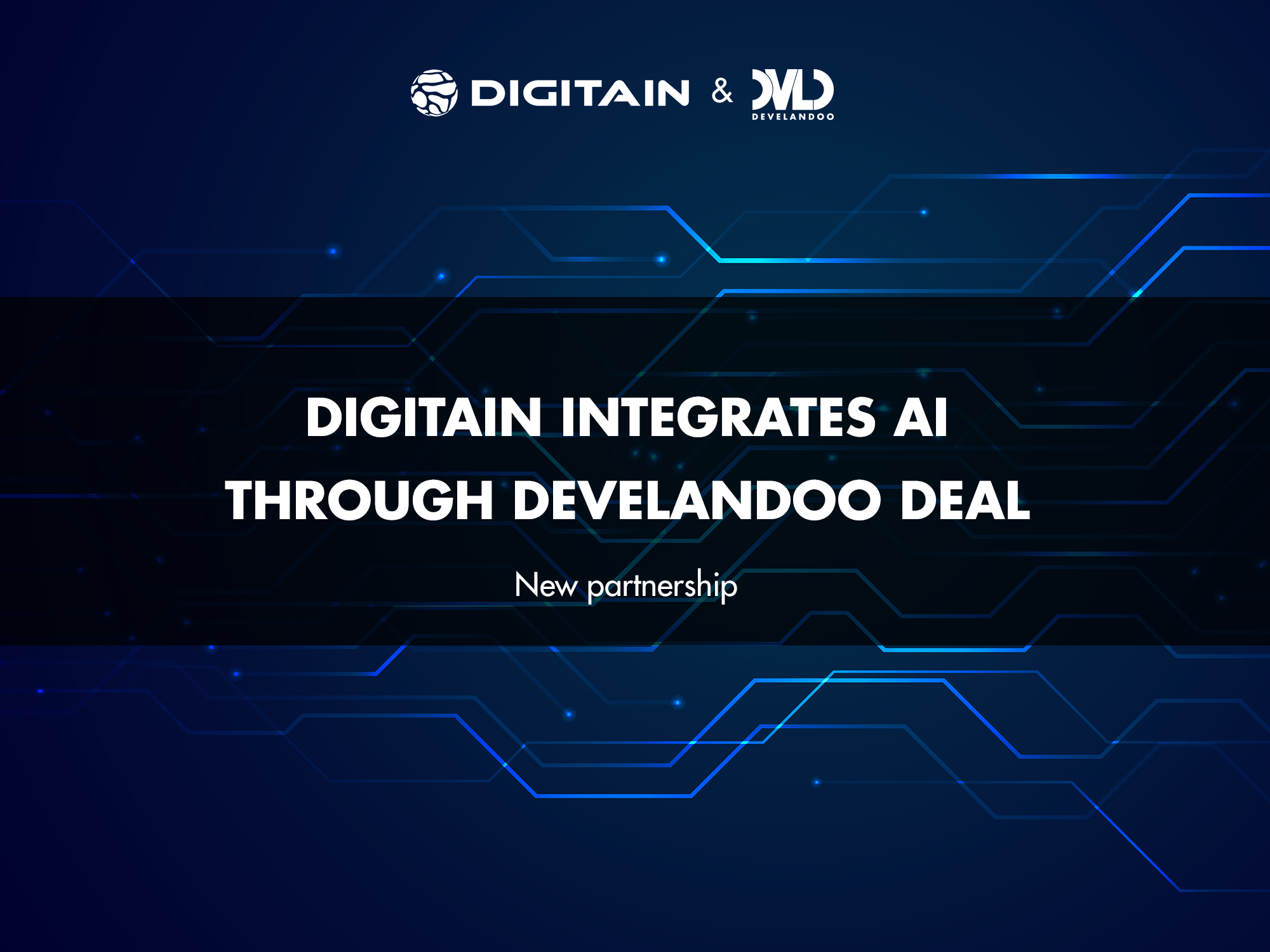 Develandoo's AI Solutions To Be Integrated onto Digitain's Platforms