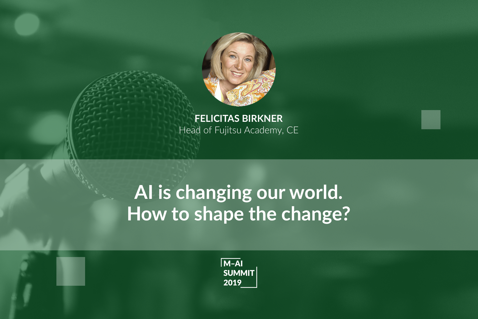 Calling for Attention, Responsibility and Trust. Felicitas Birkner Shows How to Face the Rapid Changes of AI