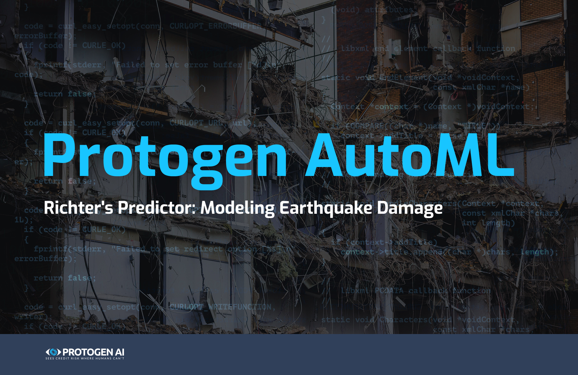 Predicting the Level of Damage Caused by the Earthquake. Protogen Team Has Joined a Competition