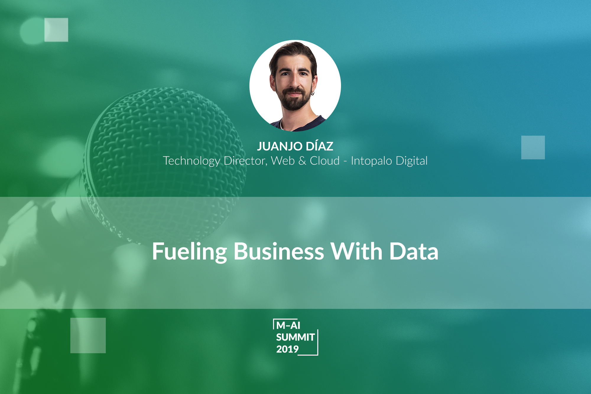 Digitizing Your Business is Not Enough Anymore. Juanjo Diaz Emphasizes the Importance of Adopting New Data-driven Solutions