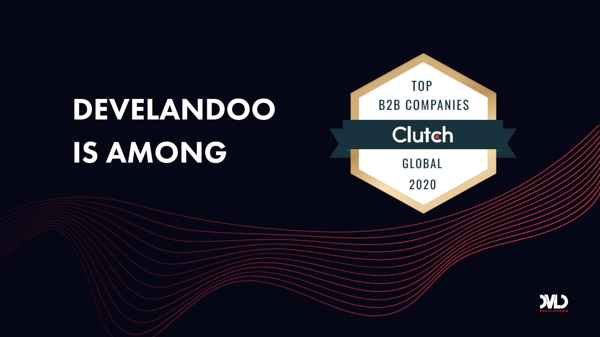 Clutch lists Develandoo in top 10 AI Service Providers Globally