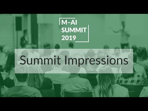 Munich AI Summit 2019 Highlights. Hip and free science for everyone