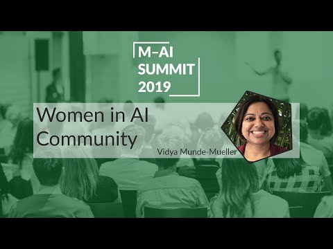 Women in AI Community | Munich AI Summit 2019