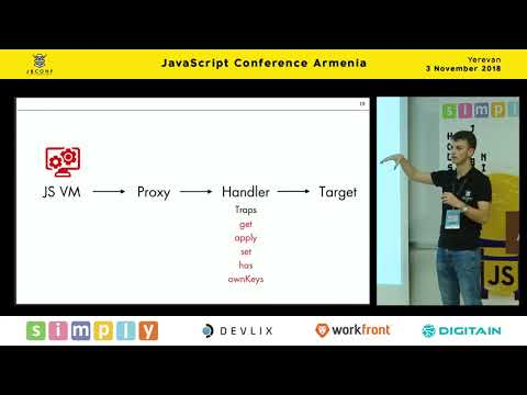 Develandoo's Frontend developer Robert's tech talk at JS Conf Armenia 2018 (Arm version)